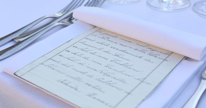 menu centenario poderi fiorini