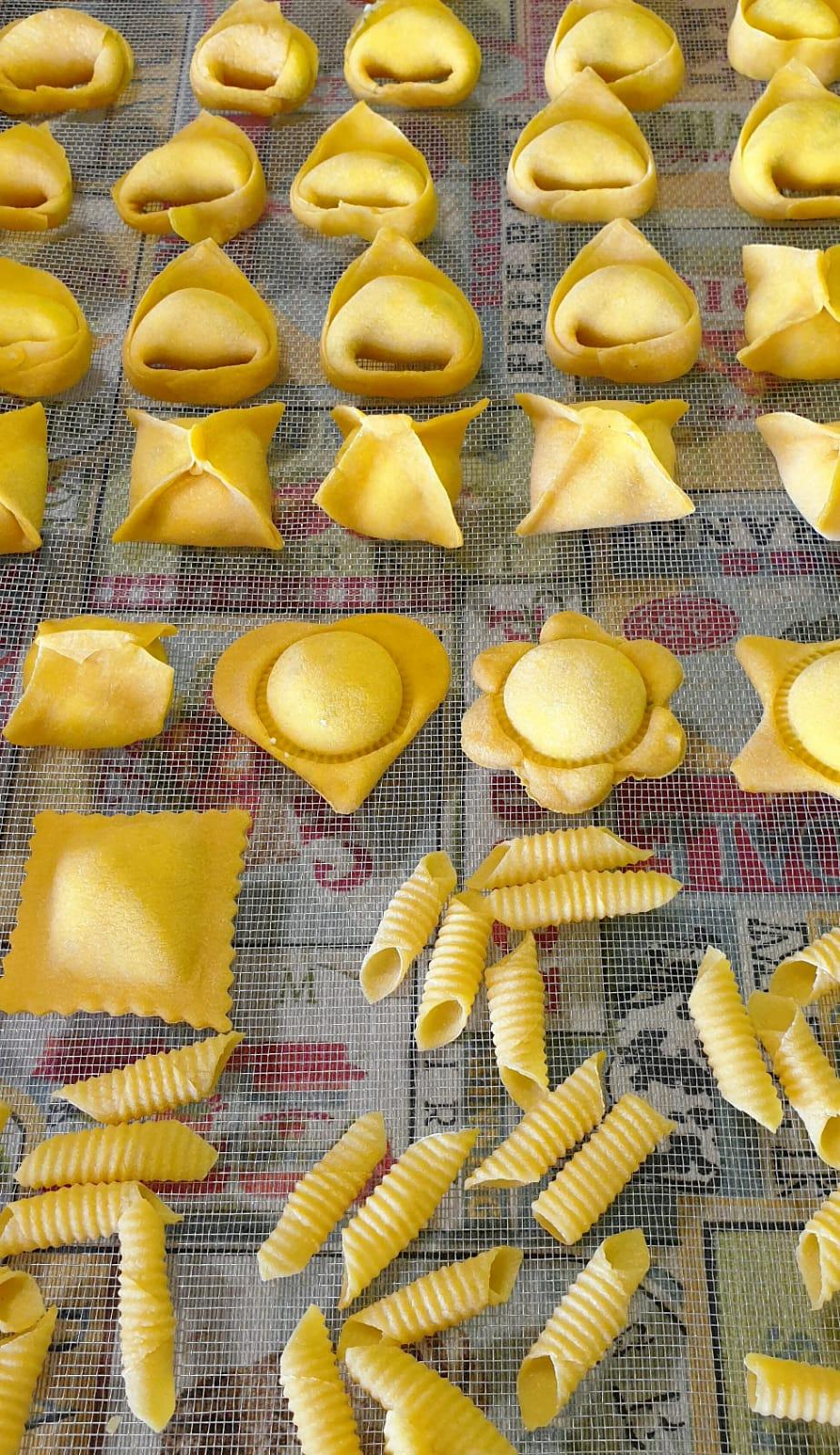 confezionamento pasta cooking class poderi fiorini modena
