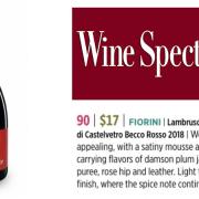wine spectator becco rosso 2020